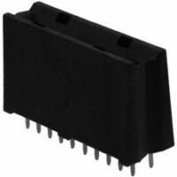 TE Connectivity AMP Connectors - 6651170-3 - CONN EDGE DUAL FEMALE 4POS 0.508