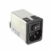 TE Connectivity Corcom Filters - 6CHS1 - PWR ENT MOD RCPT IEC320-C14 PNL