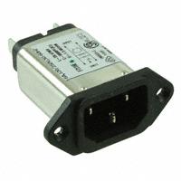 TE Connectivity Corcom Filters - 6EAH1 - PWR ENT RCPT IEC320-C14 PANEL QC