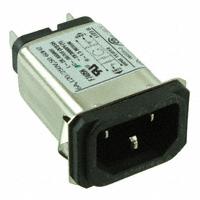 TE Connectivity Corcom Filters - 6EBS1 - PWR ENT RCPT IEC320-C14 PANEL QC