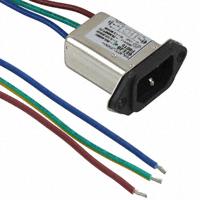 TE Connectivity Corcom Filters - 3-6609006-4 - PWR ENT RCPT IEC320-C14 PNL WIRE