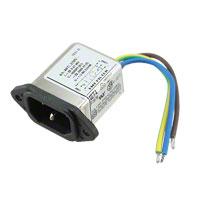 TE Connectivity Corcom Filters - 1-6609014-1 - PWR ENT RCPT IEC320-C14 PNL WIRE