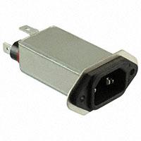 TE Connectivity Corcom Filters - 6EJT1F - PWR ENT RCPT IEC320-C14 PANEL QC