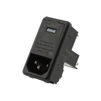 TE Connectivity Corcom Filters - 6EL4CM - PWR ENT MOD RCPT IEC320-C14 PNL