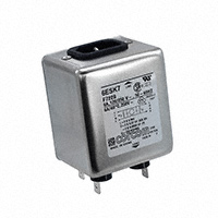 TE Connectivity Corcom Filters - 6ESK7 - LINE FILTER 250VAC 6A CHASS MNT