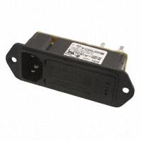 TE Connectivity Corcom Filters - 3-6609128-3 - PWR ENT MOD RCPT IEC320-C14 PNL
