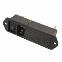 TE Connectivity Corcom Filters - 3-6609128-5 - PWR ENT MOD RCPT IEC320-C14 PNL