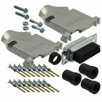 TE Connectivity AMP Connectors - 749805-8 - CONN D-SUB PLUG 15POS STR CRIMP