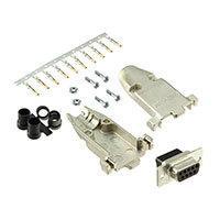 TE Connectivity AMP Connectors - 749806-7 - CONN D-SUB RCPT 9POS STR CRIMP