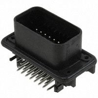 TE Connectivity AMP Connectors - 776087-1 - CONN HDR RTANG 23POS W/GASKT TIN