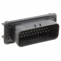 TE Connectivity AMP Connectors - 776163-1 - CONN HEADER 35POS R/A TIN BLK