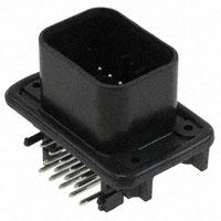 TE Connectivity AMP Connectors - 776267-1 - CONN HEADER 14POS R/A TIN BLK