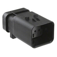TE Connectivity AMP Connectors - 776495-2 - CONN CAP ASSY 8POS 14-18AWG GRAY
