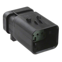 TE Connectivity AMP Connectors - 776495-4 - CONN CAP ASSY 8POS 14-18AWG GRN