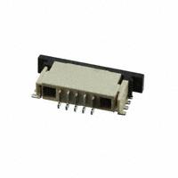 TE Connectivity AMP Connectors - 84952-5 - CONN FPC BOTTOM 5POS 1.00MM R/A