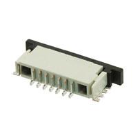 TE Connectivity AMP Connectors - 84952-7 - CONN FPC BOTTOM 7POS 1.00MM R/A
