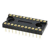 TE Connectivity AMP Connectors - 522-AG10D - CONN IC DIP SOCKET 22POS GOLD