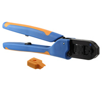 TE Connectivity AMP Connectors - 91549-1 - TOOL HAND CRIMPER 24-28AWG SIDE