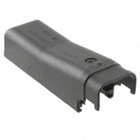 TE Connectivity AMP Connectors - 965643-1 - CONN BCKSHLL/CBL CLMP R/A 42POS