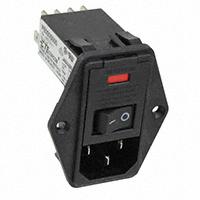 TE Connectivity Corcom Filters - 9-6609955-9 - PWR ENT MOD RCPT IEC320-C14 PNL
