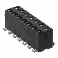 """TE Connectivity AMP Connectors - 969973-7 - CONN RCPT DUAL ENTRY 14POS .100"""""""
