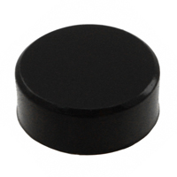 TE Connectivity ALCOSWITCH Switches - C90 - CAP PUSHBUTTON ROUND BLACK
