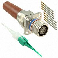 TE Connectivity Deutsch Connectors - CFX20M1108SZN - CONN RCPT 8POS PNL MNT SKT CRIMP