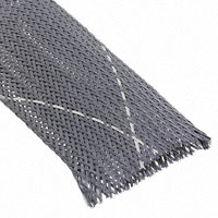 """TE Connectivity Raychem Cable Protection - VERSAFLEX-FR-1-3/4-09-SP - SLEEVING 1.772"""" X 3.28' BLK/WHT"""