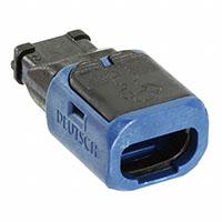 TE Connectivity Deutsch Connectors - D369-P33-BP0 - PLUG B-KEY PIN 3POS
