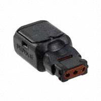TE Connectivity Deutsch Connectors - D369-P33-NP0 - PLUG N-KEY PIN 3 WAY