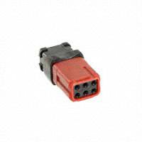 TE Connectivity Deutsch Connectors - D369-R66-AS0 - RECEP A-KEY SOCKET 6POS
