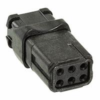TE Connectivity Deutsch Connectors - D369-R66-NS0 - RECEP N-KEY SOCKET 6 WAY
