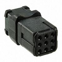TE Connectivity Deutsch Connectors - D369-R99-NS0 - RECEP N-KEY SOCKET 9 WAY