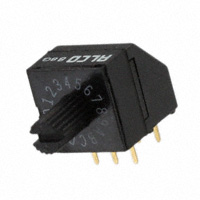 TE Connectivity ALCOSWITCH Switches - 1825008-8 - SWITCH ROTARY DIP HEX 0.40VA 20V