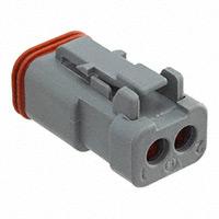 TE Connectivity Deutsch Connectors - DT06-2S-CE01 - DT PLUG ASM