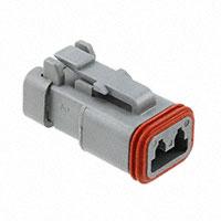 TE Connectivity Deutsch Connectors - DT06-2S-E003 - DT PLUG ASM