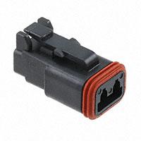 TE Connectivity Deutsch Connectors - DT06-2S-E004 - DT PLUG ASM