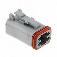 TE Connectivity Deutsch Connectors - DT06-4S - DT PLUG ASM