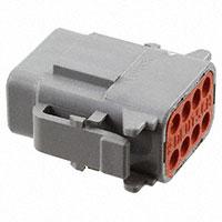 TE Connectivity Deutsch Connectors - DTM06-08SA - DTM PLUG ASM