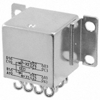 TE Connectivity Aerospace, Defense and Marine - FCA-410-1624M - RELAY GEN PURPOSE 4PDT 10A 28V