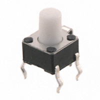 TE Connectivity ALCOSWITCH Switches - 2-1825955-2 - SWITCH TACTILE SPST-NO 0.05A 24V