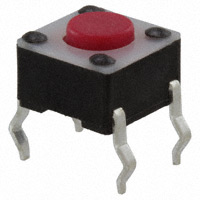 TE Connectivity ALCOSWITCH Switches - 1825910-3 - SWITCH TACTILE SPST-NO 0.05A 24V