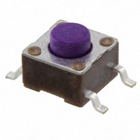 TE Connectivity ALCOSWITCH Switches - 1571563-2 - SWITCH TACTILE SPST-NO 0.05A 24V