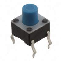 TE Connectivity ALCOSWITCH Switches - 1-1825910-0 - SWITCH TACTILE SPST-NO 0.05A 24V