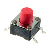 TE Connectivity ALCOSWITCH Switches - FSM6JSMAASTR - SWITCH TACTILE SPST-NO 0.05A 24V