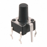 TE Connectivity ALCOSWITCH Switches - 1-1825955-4 - SWITCH TACTILE SPST-NO 0.05A 24V