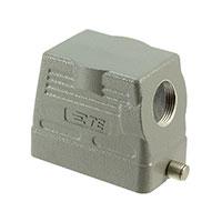 TE Connectivity AMP Connectors - H10B-TS-RO-PG16 - CONN HOOD SIDE ENTRY SZ10B PG16