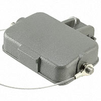 TE Connectivity AMP Connectors - H6B-KDB - CONN COVER WITH CORD SZ6B