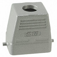 TE Connectivity AMP Connectors - H6B-TG-PG16 - CONN HOOD TOP ENTRY SZ6B PG16