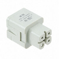 TE Connectivity AMP Connectors - HA-003-FS - INSERT FEMALE 3+1GND PUSHIN